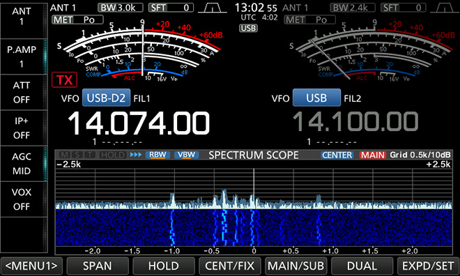 Technical article / Let's operate FT8 with the newly