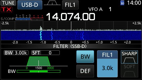 Technical corner / Operating in the FT8 mode with the IC-7300|May